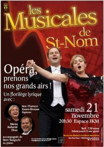 les musicals de St Nom